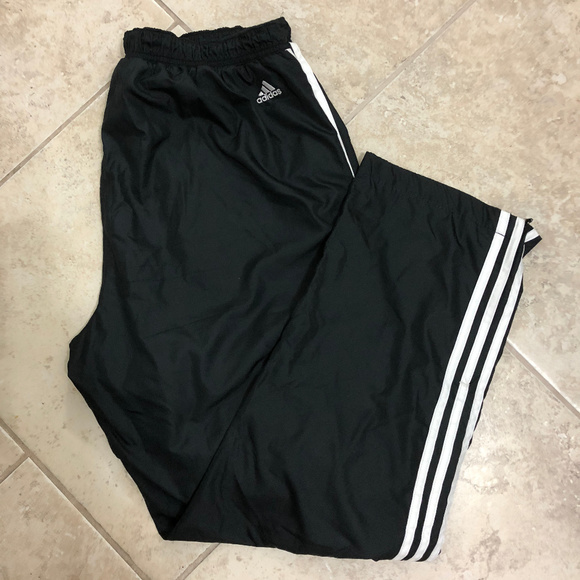 f1eaedd33960 adidas Other - Men Classic Adidas 3 Stripe Track Wind Pant Black